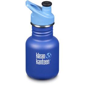 Klean Kanteen Classic Bottle 355ml with Sport Cap 3.0 Kids surfs up (matt)